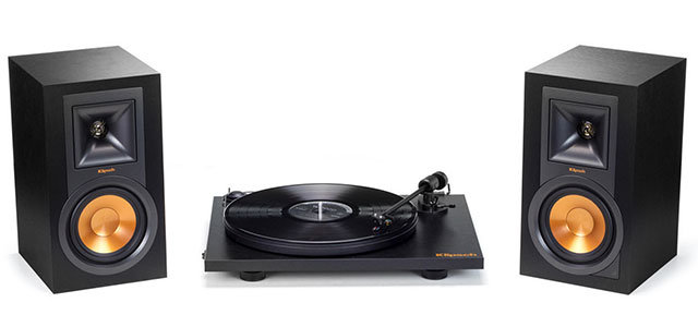 Klipsch Pro-Ject Turntable Package