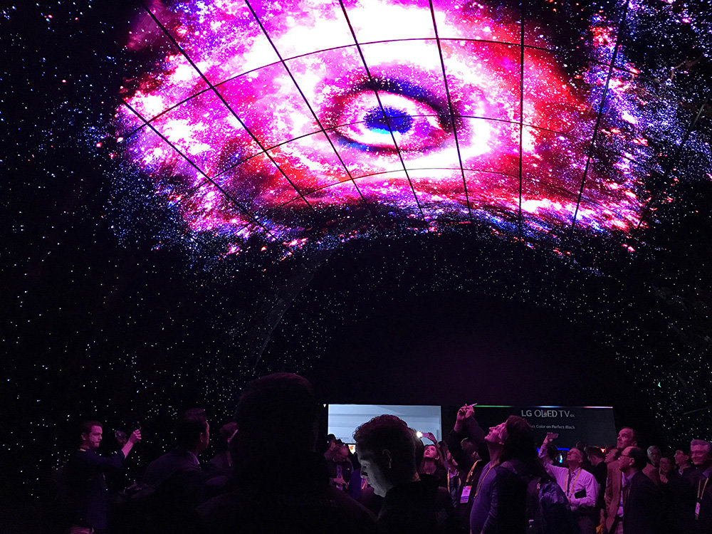 Inside the LG OLED Tunnel