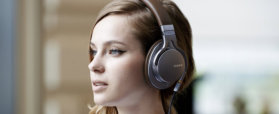 Sony Hi-res headphones