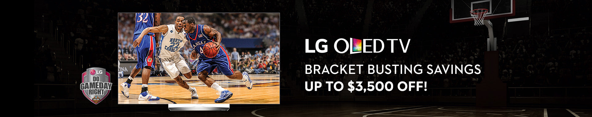Bracket Bustling Savings on LG TVs