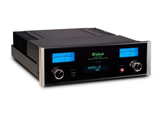 McIntosh Labs MA5200 2-Channel Integrated Amplifier (Black)