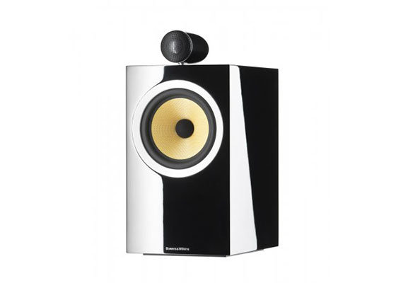 Bowers & Wilkins 2-Way Bookshelf Speakers with Floorstands