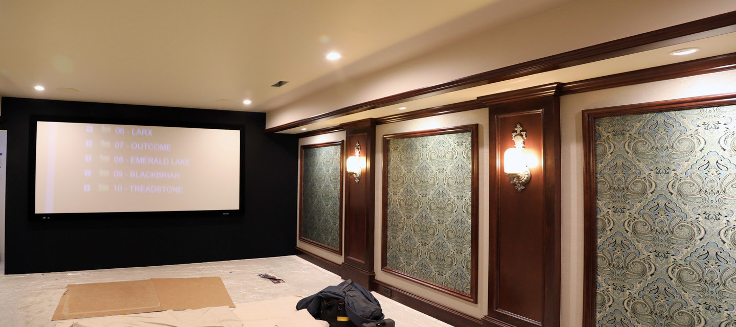 Dolby Atmos Theater renovation