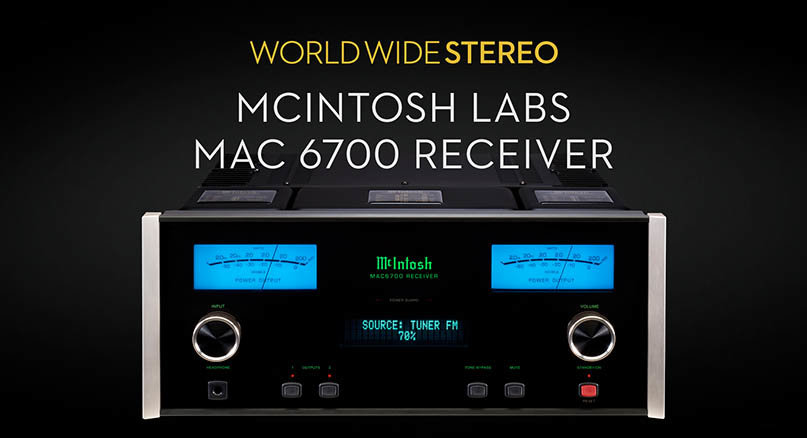 Mcintosh Mac6700 Stereo Receiver Product Tour
