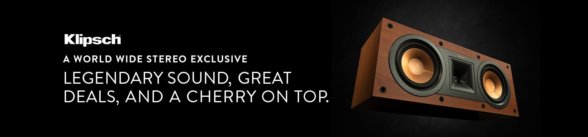 Klipsch Reference Speakers Cherry Announcement