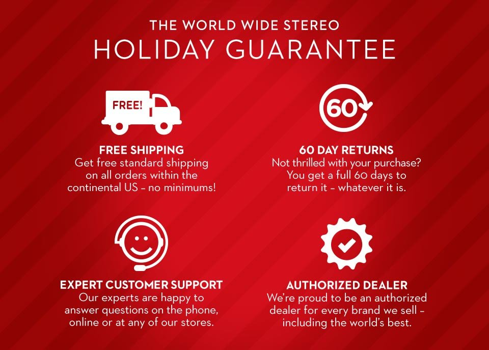 Our Holiday Guarantee