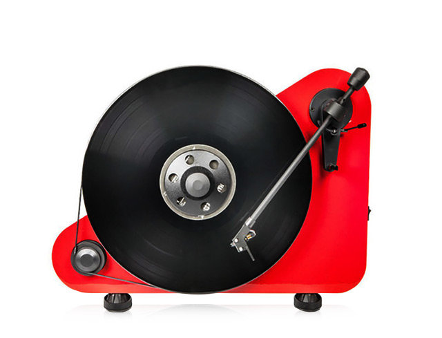 Pro-Ject VT-E Right-Handed Vertical-Standing Plug  Play Turntable