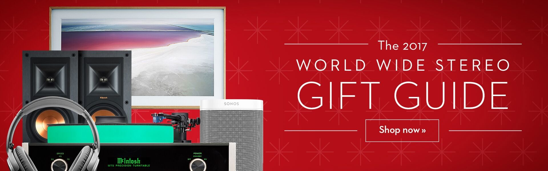World Wide Stereo Holiday Gift Guide 2017