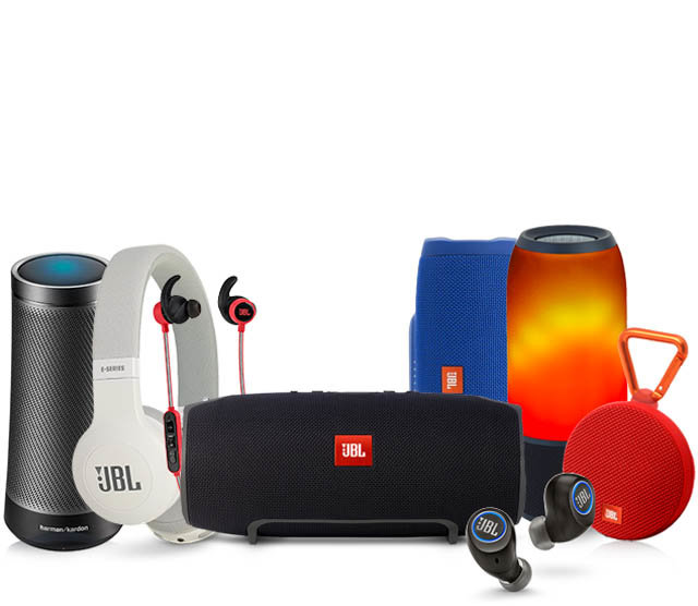 Save 10% or more on all Harman Kardon, AKG, and JBL products