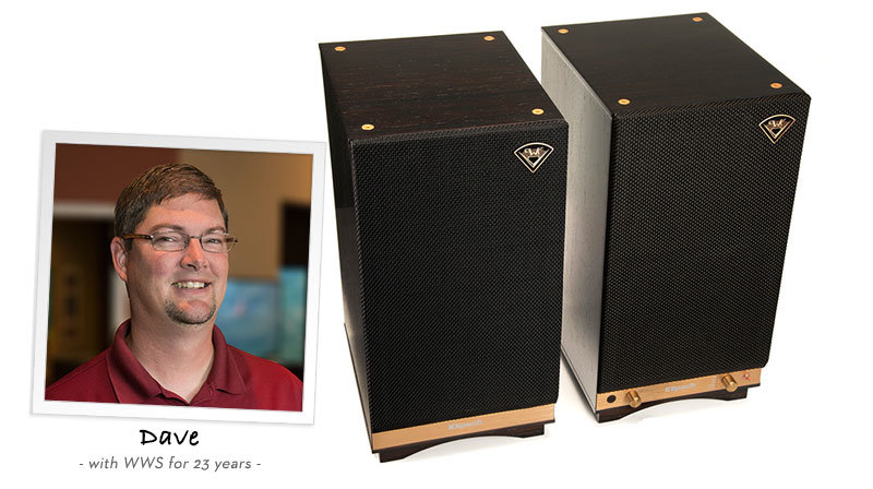Dave recommends Klipsch The Sixes Speakers