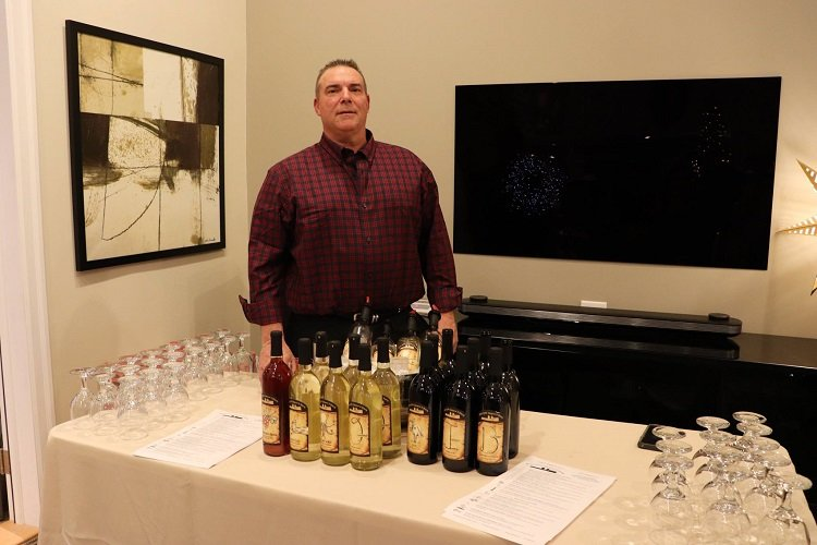 Attendees enjoyed free wine tastings from our friends at Bishop Estate Vineyard and Winery.