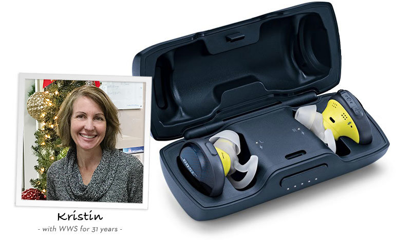 Kristin recommends Bose SoundSport Free Earbuds