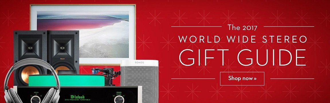 World Wide Stereo Holiday Gift Guide