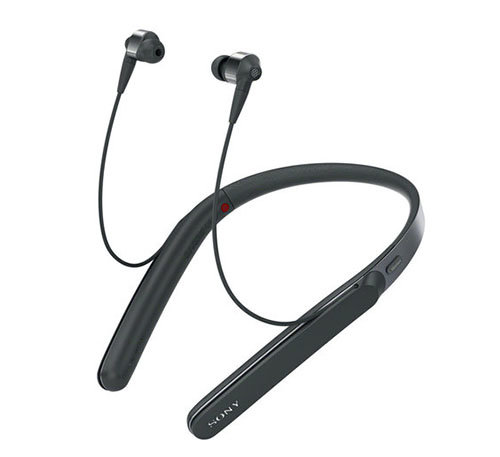 Sony WI-1000X Wireless Noise-Cancelling In-Ear Headphones with Mic and Remote