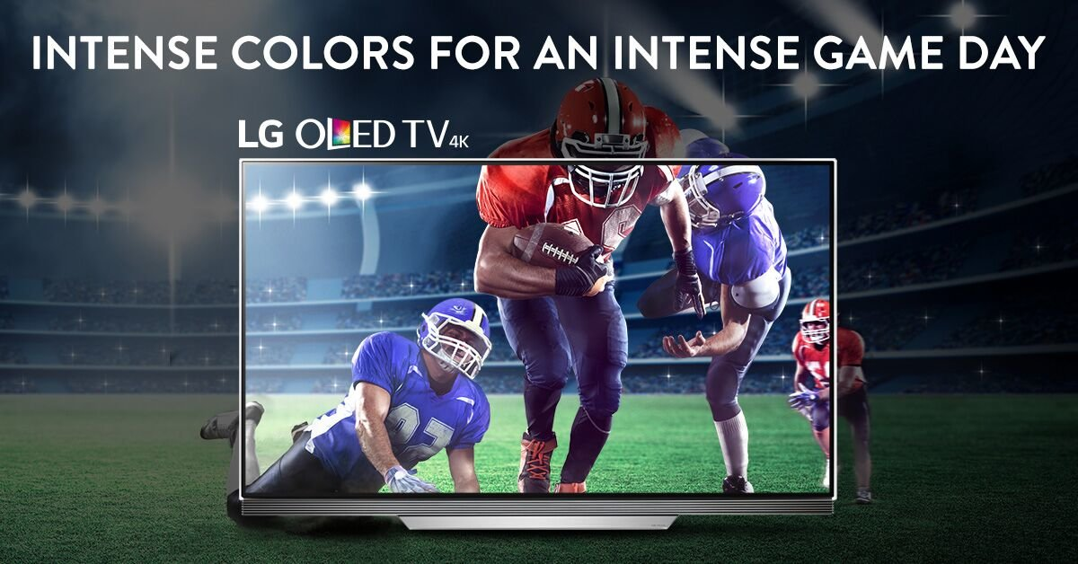 Get ready for Game Day with an LG TV!