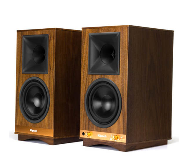 Save $200 on Klipsch Heritage Wireless The Sixes Powered Bookshelf Speakers