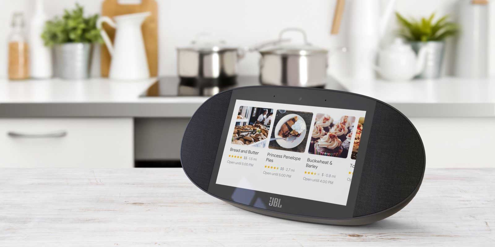 JBL Link View Smart Display and Speaker with Google Assist