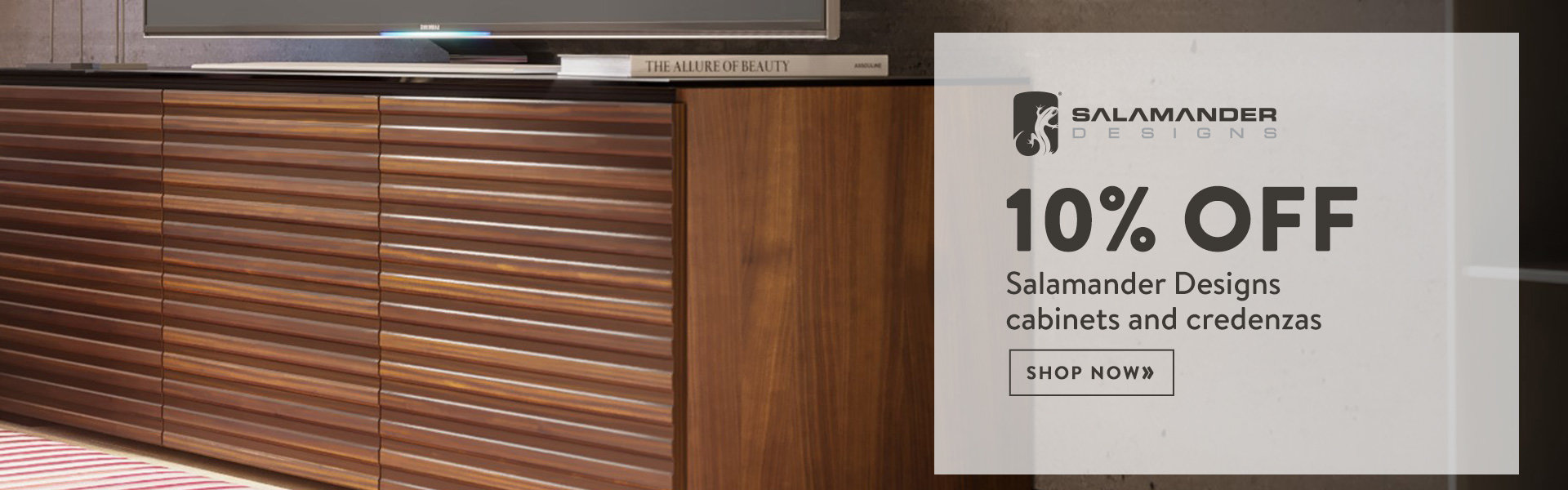 Save 10% or more on Salamander Designs cabinets and credenzas