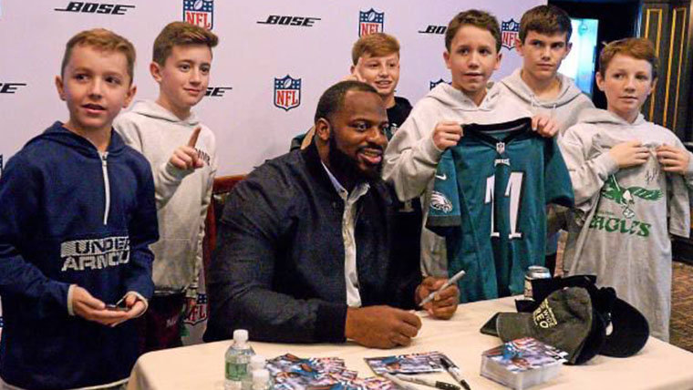 Meet and Greet with Fletcher Cox from the Philadelphia Eagles