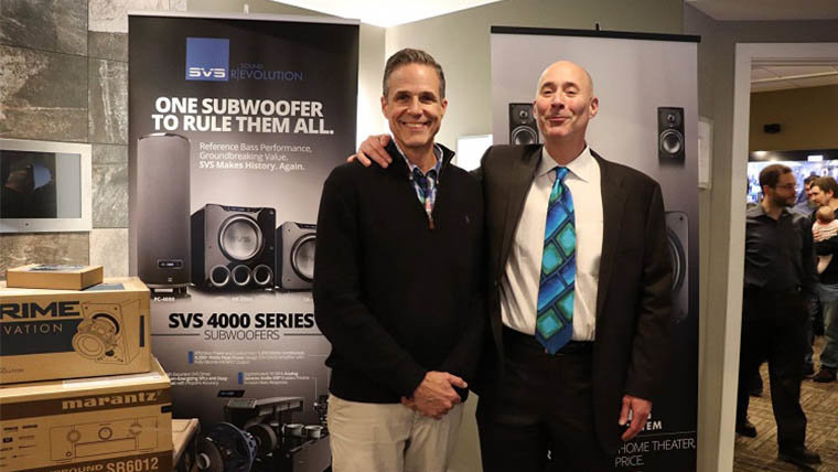 SVS 4000 Series Subwoofer Launch Party