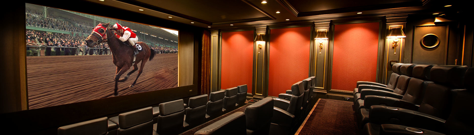 Custom Designed Home Theater Photo