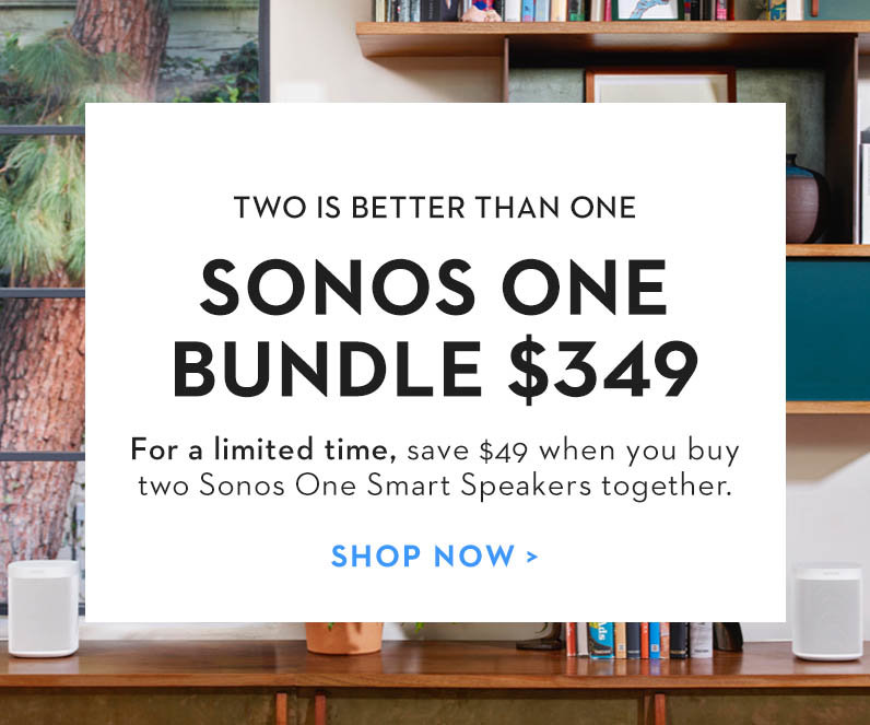 Sonos One Special Offers