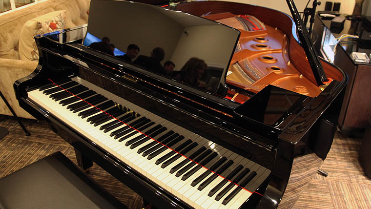 A Night of Live Jazz & Yamaha's Self-Playing Piano