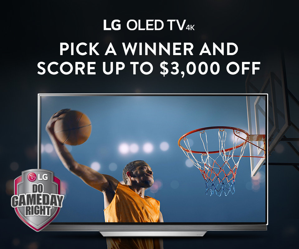 LG TV March Madness Promotion
