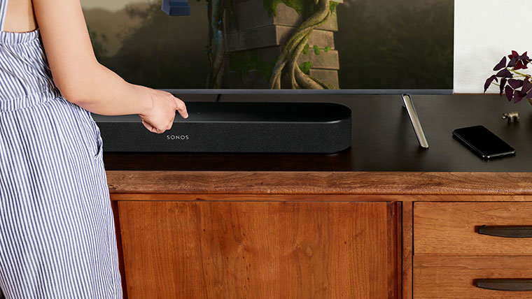 TV's Newest Star: The All-New Sonos Beam with Amazon Alexa