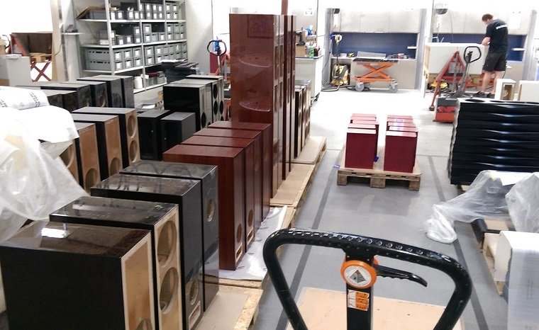 A Peek Inside the Dynaudio Factory in Denmark