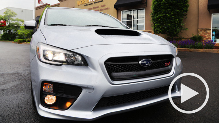 A Subaru WRX STi Stereo System Gets a Focal Speaker Upgrade