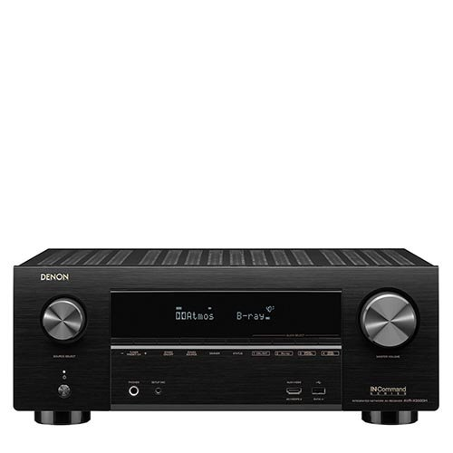 Denon AVR-X3500H 7.2-Channel 4K Ultra HD AV Receiver with HEOS