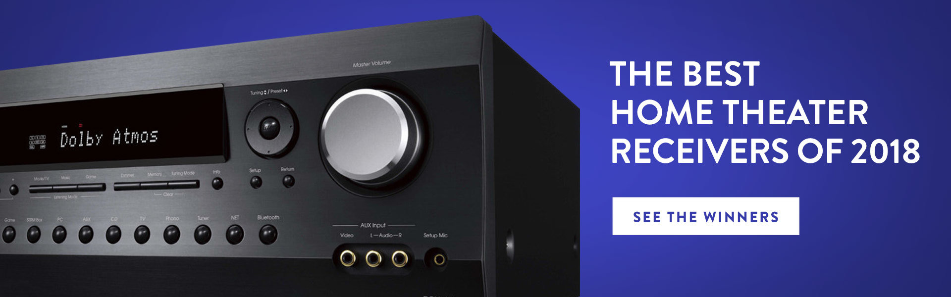 The Best AV Receivers of 2018