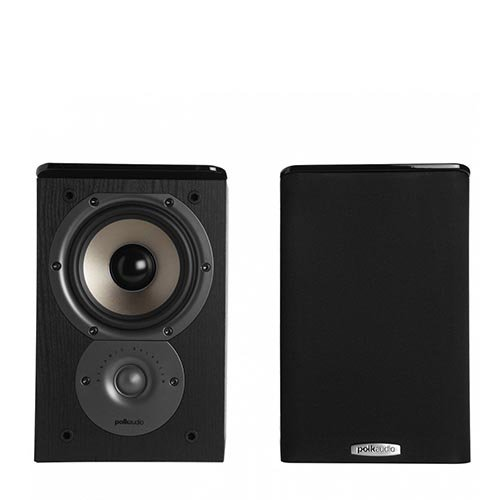 "Polk Audio TSi100 2-Way Bookshelf Speakers With 5.25"" Driver - Pair"