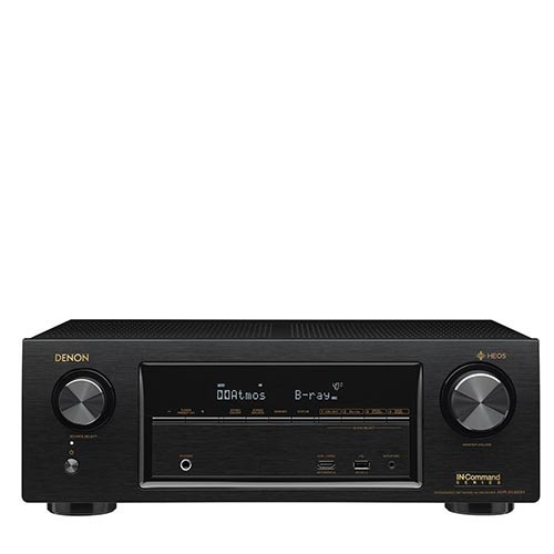 Denon AVR-X1400H 7.2 Channel Full 4K Ultra HD Network AV Receiver with HEOS