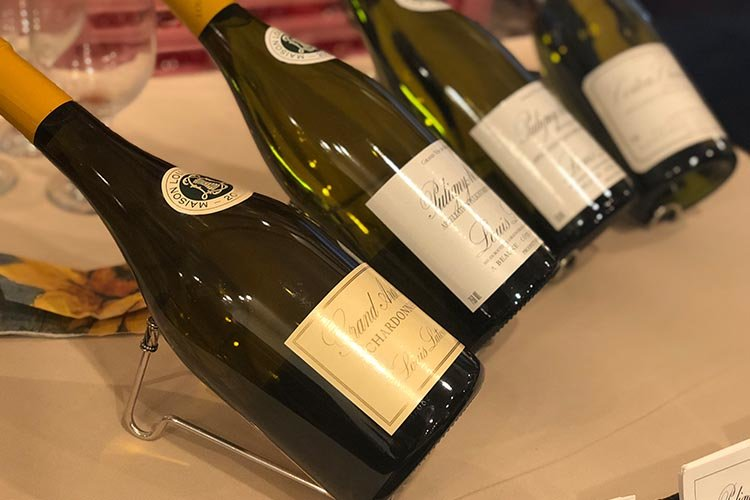 French wine tasting provided by Louis Latour