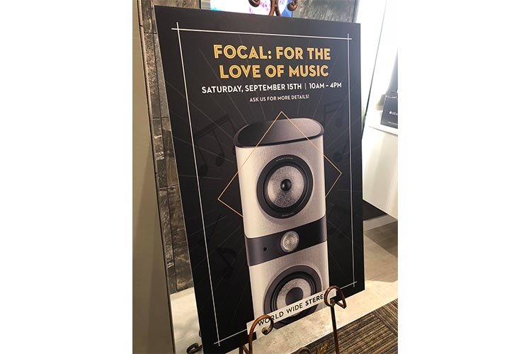 Focal: For the Love of Music Poster