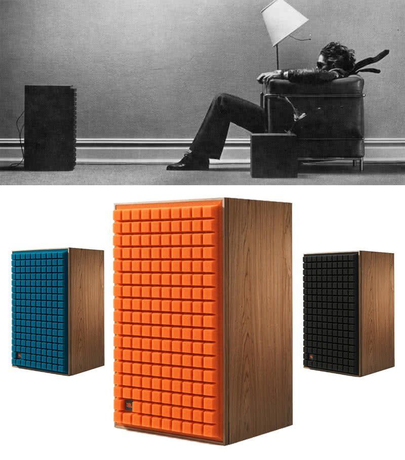 JBL L100 classic speakers from maxell ad return