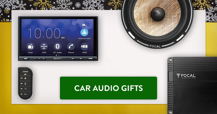Car Audio Gift Guide