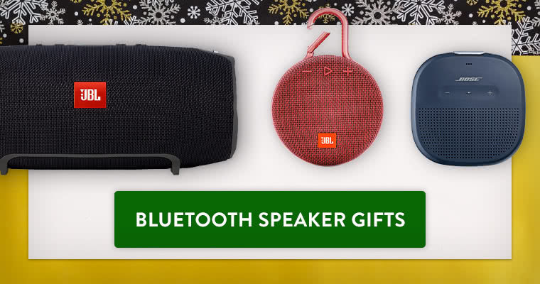 Bluetooth Speakers Gift Guide
