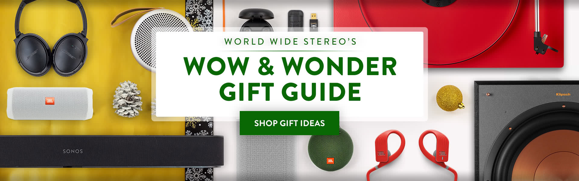 World Wide Stereo Gift Guide