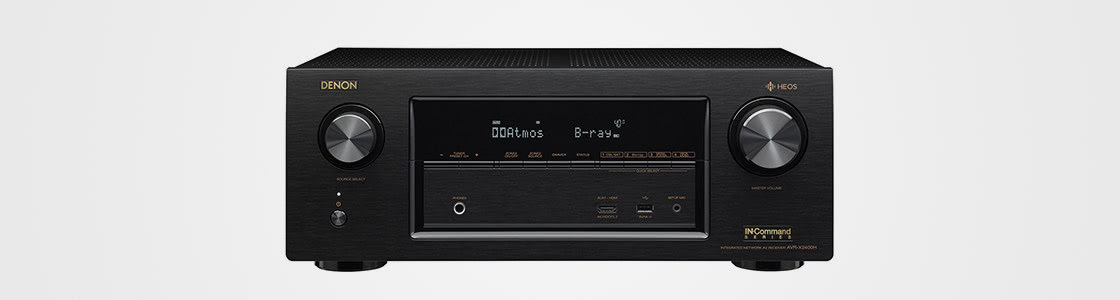 Denon HEOS AVR-X2400H 7.2 channel receiver