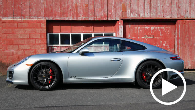 A Porsche 911 GTS Gets a Stereo & Stealth Upgrade