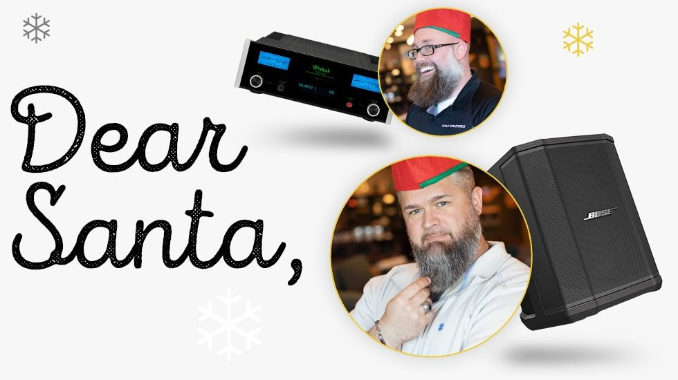 World Wide Stereo's Holiday Wishlist