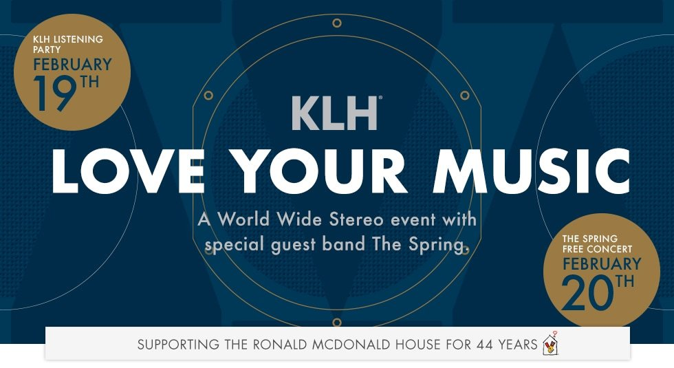 KLH Love Your Music Event