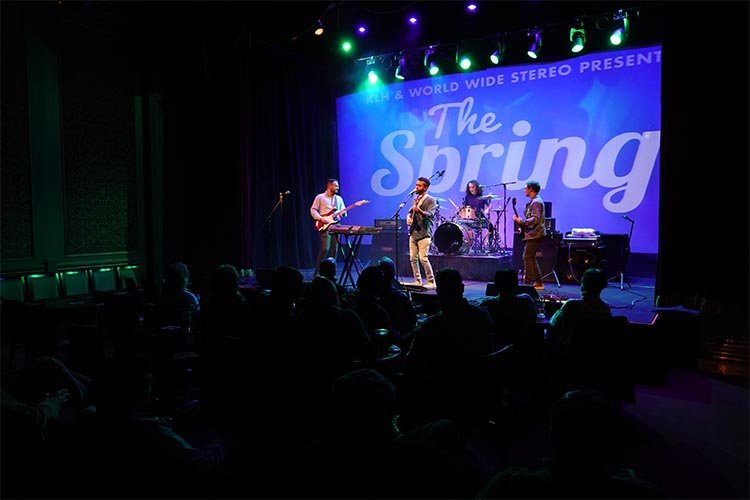 The Spring on stage