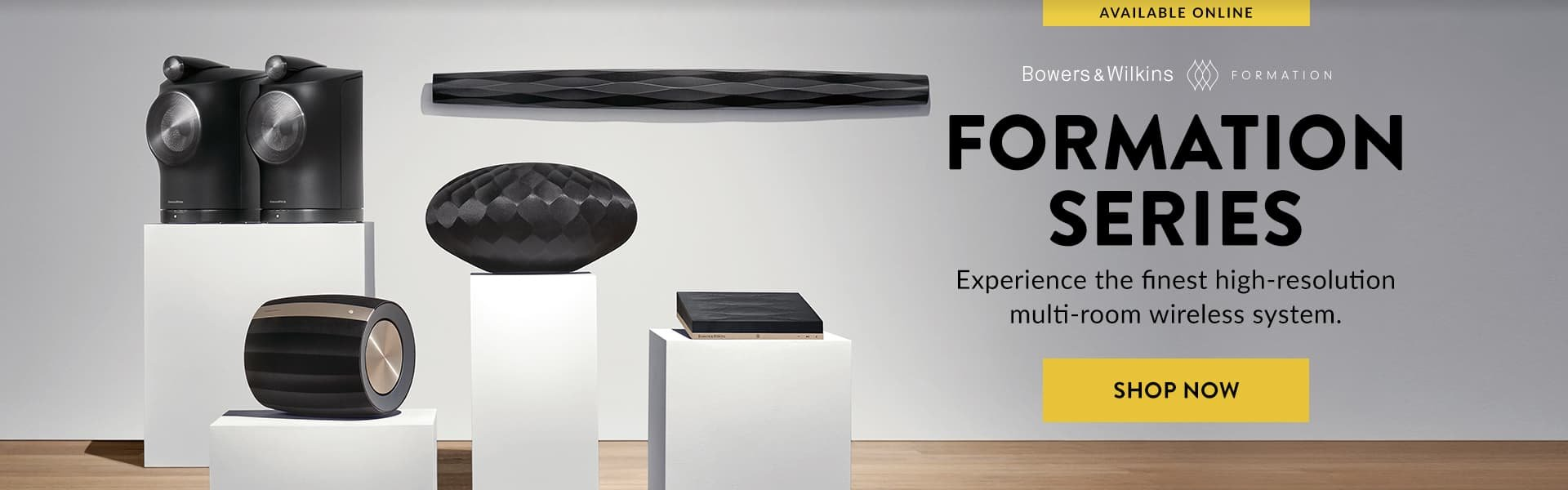 Shop Bowers & Wilkins Formation Series