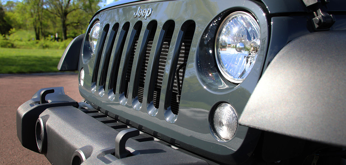 Front Jeep Grille