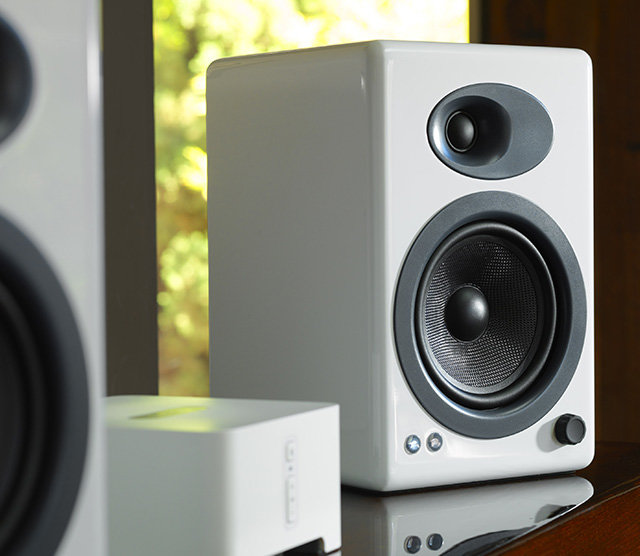 Audioengine A5+ Classic Powered Bookshelf Speakers