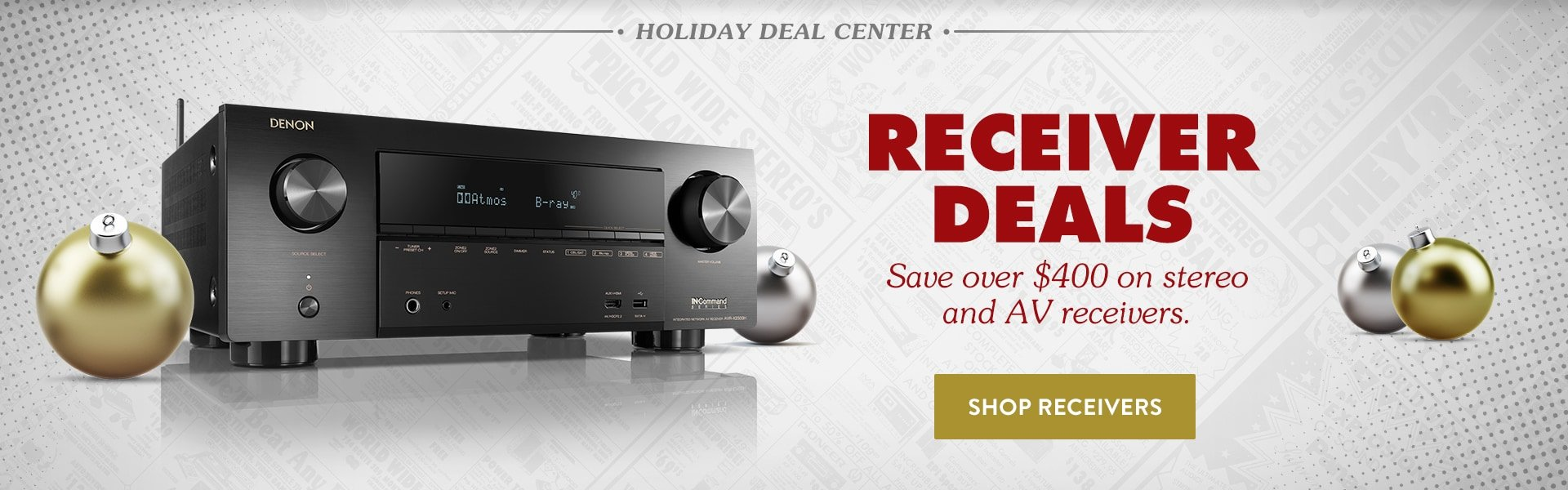 Save on Receivers